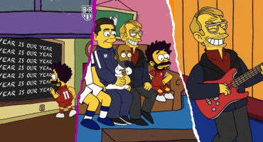 El video del intro de los Simpson al estilo de la Final de la Champions League