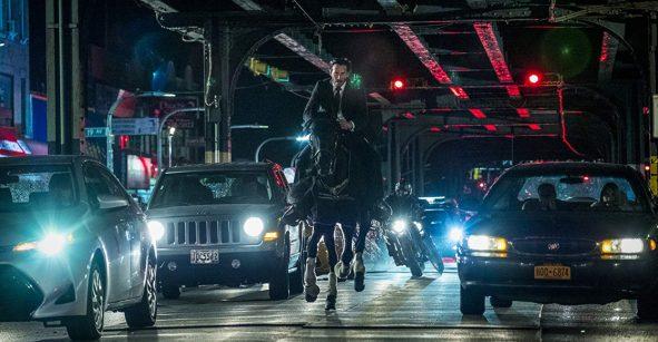 Así luce la sala en Los Ángeles en donde editan 'John Wick 3: Parabellum'