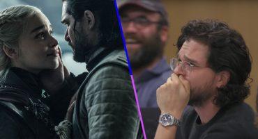 Kit Harington lloró cuando se enteró que Daenerys moriría en sus brazos 😥