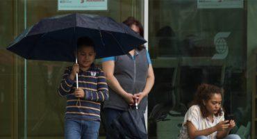 ¡Saquen los impermeables! Protección Civil activa alerta amarilla por lluvias y viento en CDMX