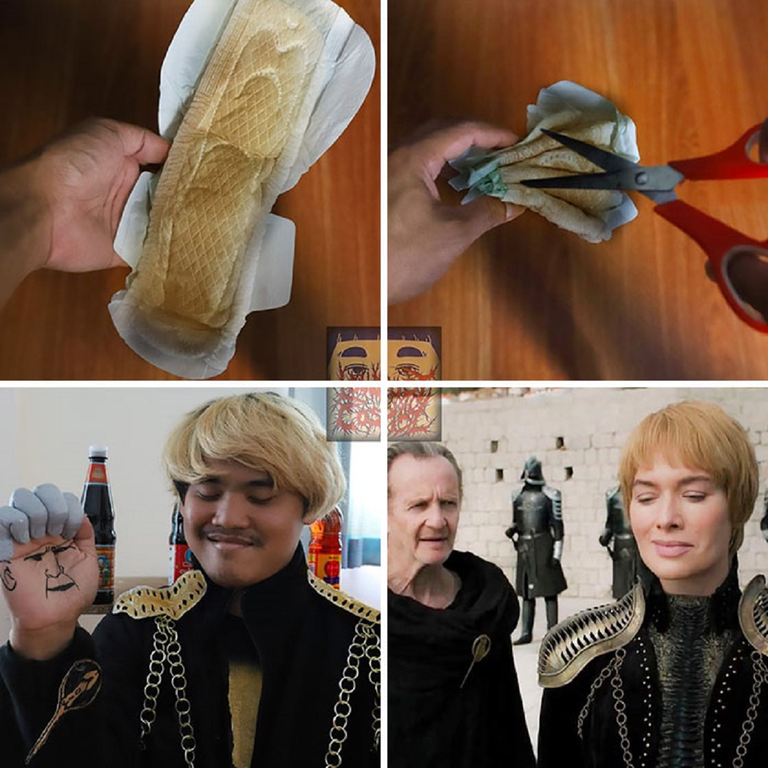 Low Cost Cosplay de Game of Thrones