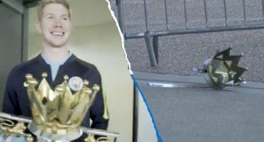 ¡Caímos! Manchester City explicó la broma que hicieron con el trofeo de la Premier League