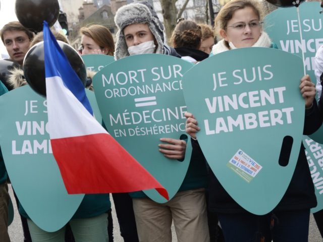 marcha en Francia caso eutanasia