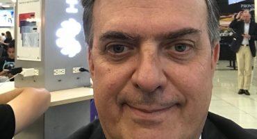 ¡Ahí, madre! Marcelo Ebrard anuncia inicio de negociaciones con Estados Unidos con una selfie