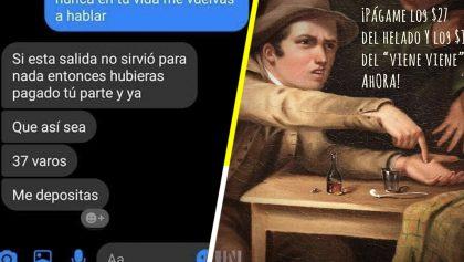 La historia detrás del meme: La friendzone, el helado y los 37 pesos