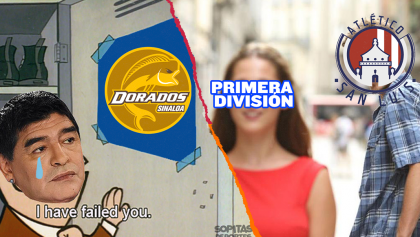 Maradona y Dorados sólo son campeones en el Ascenso de los Memes MX