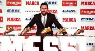 Messi conquista su sexta Bota de Oro gracias a la derrota del PSG y Mbappé