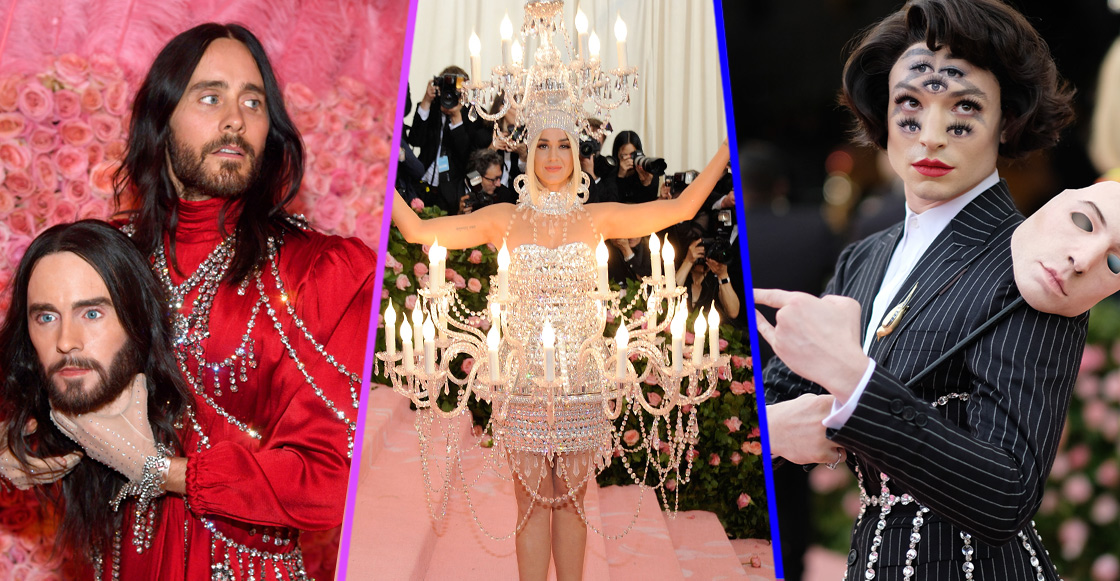 Katy Perry es un candelabro: los vestuarios más WTF de la Met Gala 2019