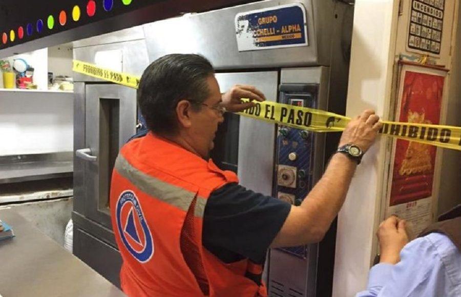 Suspensión de locales en el Metro