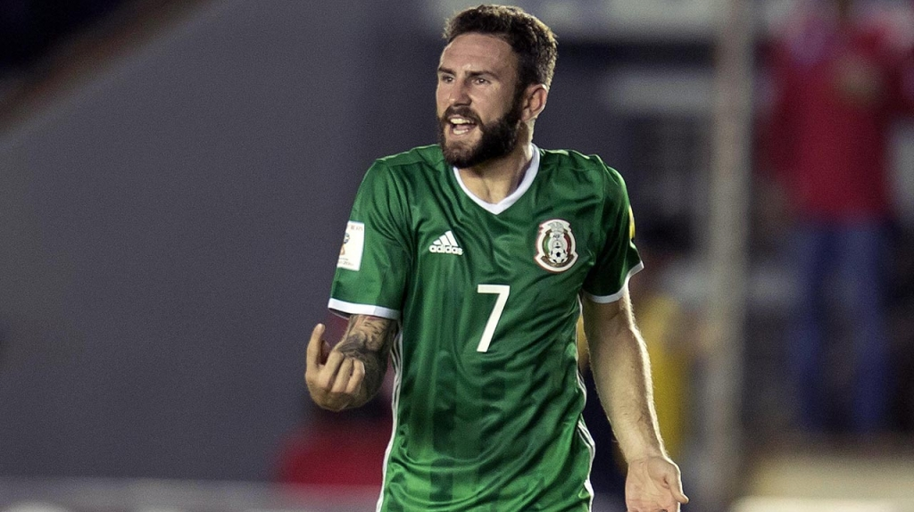Selección mexicana pierde a Miguel Layún para la Copa Oro