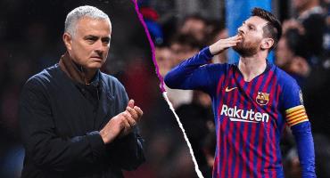 Mourinho también cae a los pies de Messi: