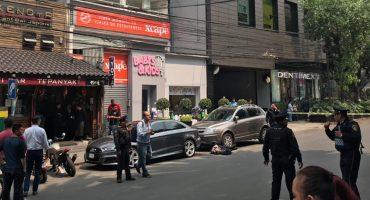 Balacera en Polanco deja un hombre muerto; se presume un intento de asalto