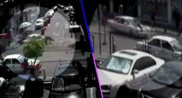 Ay, la gente: Taxista atropella a una mujer policía para evitar que lo infraccione 