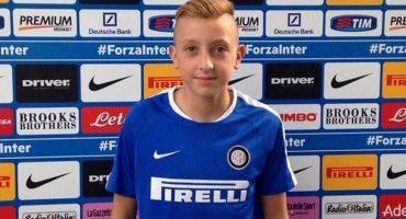 Canterano del Inter de Milán murió a los 15 años de edad por una enfermedad