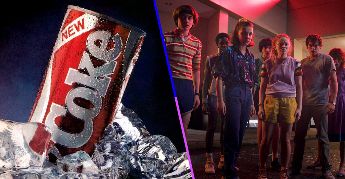 New Coke, el 'infame' refresco de los 80, estará de regreso para 'Stranger Things' de Netflix