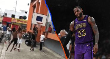 El video de un niño descalzo que impresionó a LeBron James por sus habilidades en el basquet