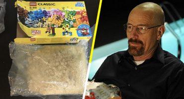 Ah caray: Niño encuentra dos kilos de droga dentro de una caja de LEGO 😐