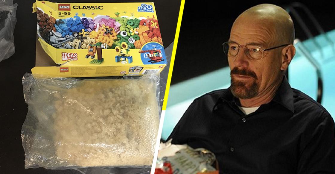 Ah caray: Niño encuentra dos kilos de droga dentro de una caja de Lego