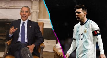Obama explicó el motivo por el que Messi no gana títulos con Argentina