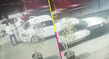 Video capta a una patrulla que escolta a secuestradores en CDMX