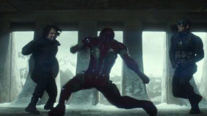 Alguien recreó la pelea de Iron Man vs Captain America en Dreams Creator ¡y debes verla!