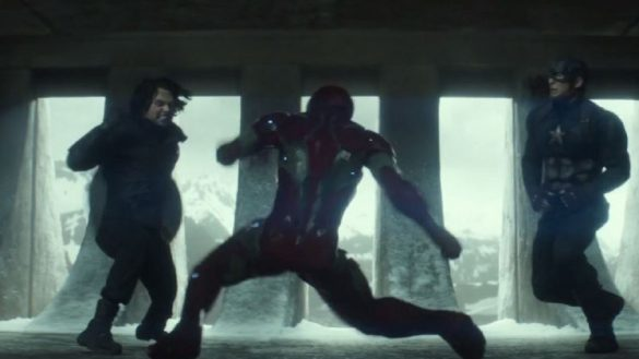 Captain America vs Iron Man - Pelea recreada en Dreams Creator