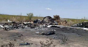 Piloto de avión desplomado en Coahuila tendría nexos con el Chapo Guzmán