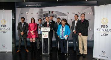 ¡Auch! Renuncia Leonor Noyola al PRD en el Senado; se podría ir también Juan Zepeda