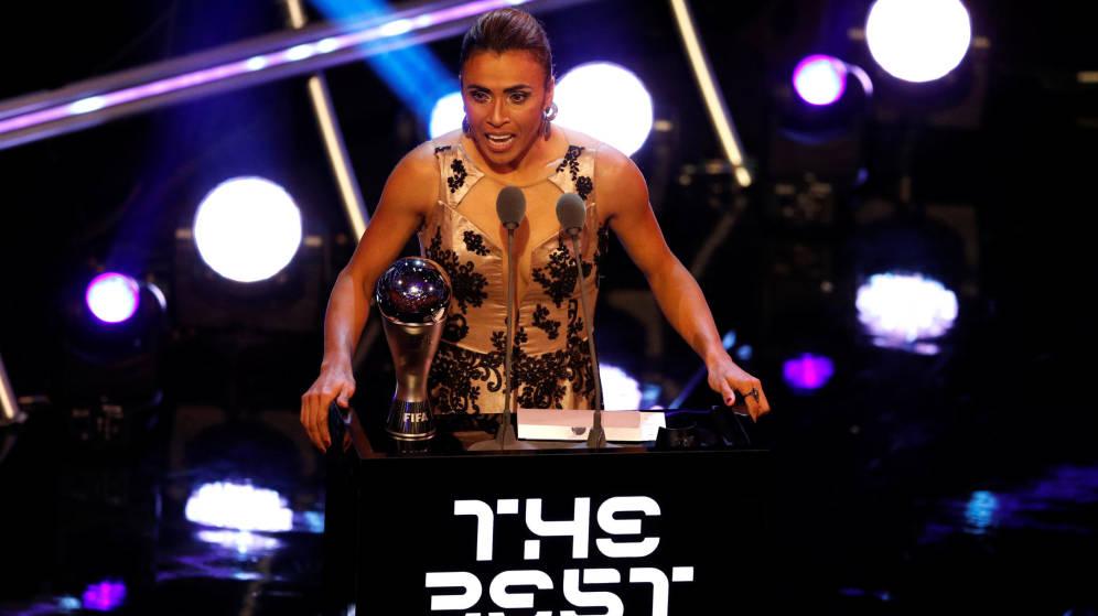 Las nuevas categorías de los premios 'The Best' que reconocerán a las mujeres