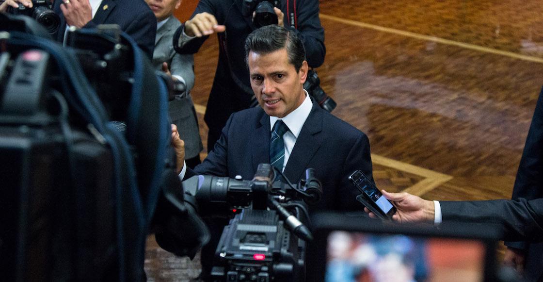 ¿Querían nombres? Estos son los periodistas que tuvieron contratos con gobierno de EPN