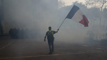 Más de 200 detenidos en París por las protestas del 1º de mayo