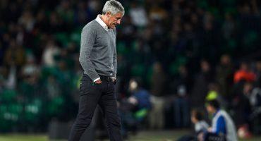 La pesadilla de Lainez, Quique Setién, dejó de ser técnico del Betis