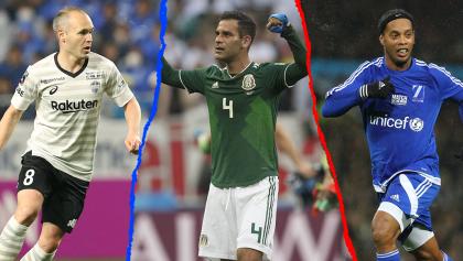 Iniesta, Ronaldinho, Eto'o… los posibles invitados al juego de despedida de Rafa Márquez