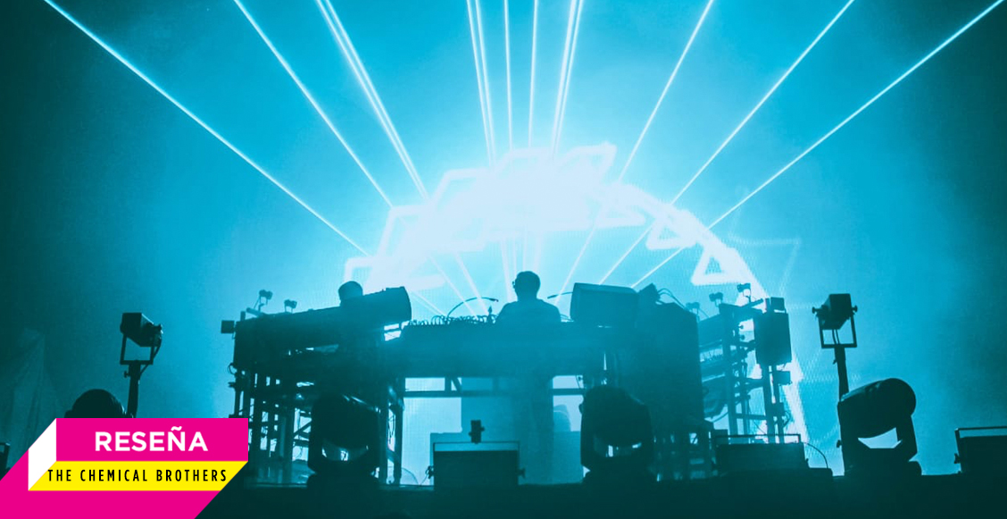 """Hold Tight México"": The Chemical Brothers en el Pepsi Center"