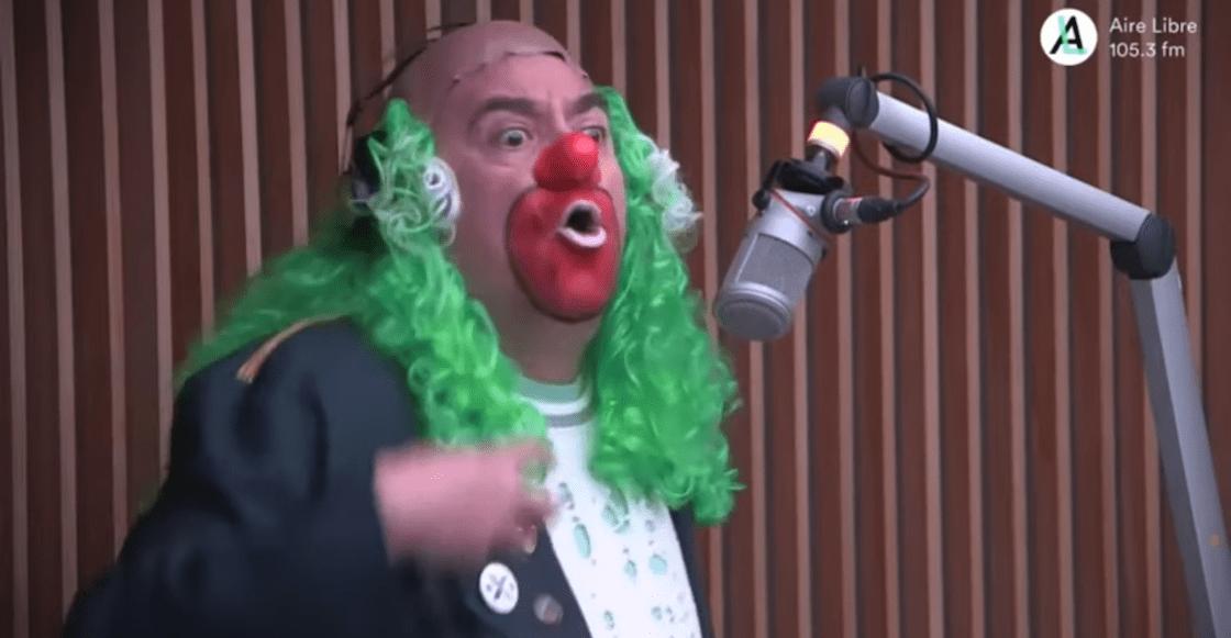 Brozo le respondió a 'las hordas' que se enojaron por su crítica a AMLO