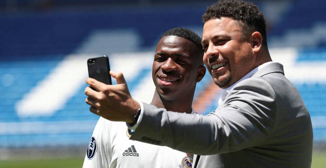 Ronaldo quiere fichar a un 'crack' del Real Madrid para su Valladolid: ¡Vinicius Jr!
