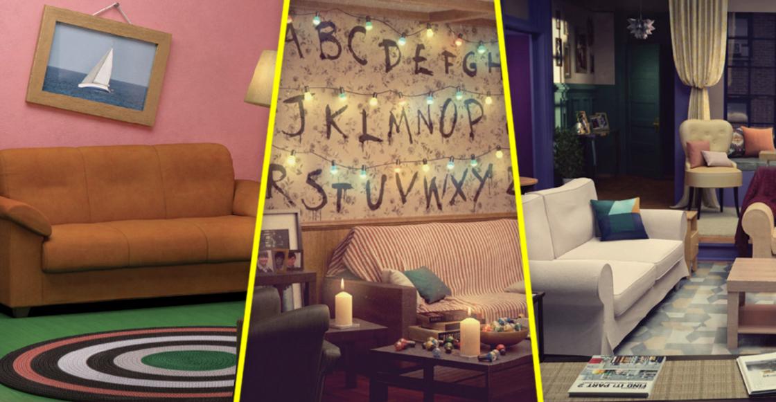 Ikea lanza a la venta muebles para salas inspiradas en Los Simpson, Friends y Stranger Things