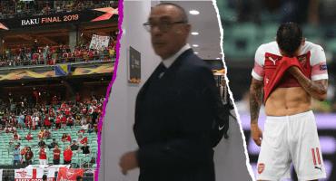 Sarri se equivocó de vestidor, el ambiente frío: Lo que no se vio de la Final de la Europa League