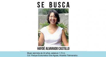 Alumna de la UNAM desaparece al ir a practicar alpinismo en el Estado de México