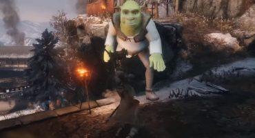 Alguien metió a Shrek en 'Sekiro: Shadows Die Twice' y... de alguna manera funciona