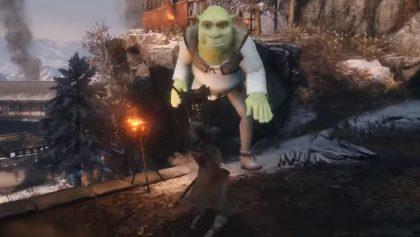 Shrek en el mundo de Sekiro