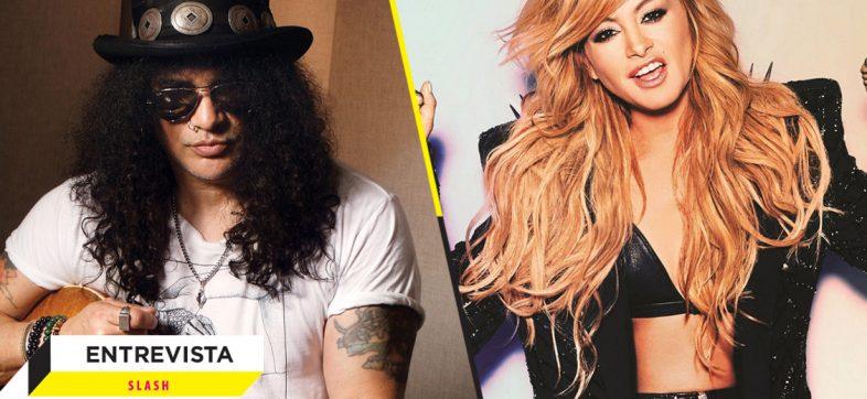¿Por qué Slash colaboró con Paulina Rubio? Él mismo nos responde