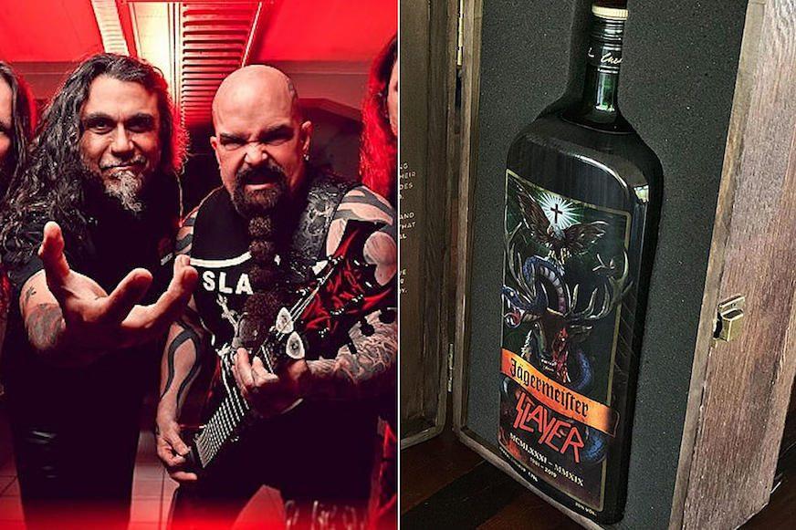 Jägermeister lanza una botella edición conmemorativa de Slayer