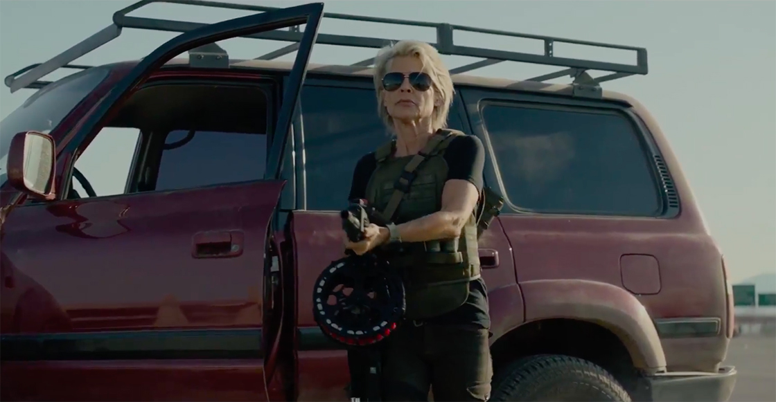 James Cameron liberó el primer teaser tráiler de 'Terminator: Dark Fate'