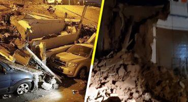 Las imágenes y videos que dejó el terremoto de magnitud 8.3 en Perú