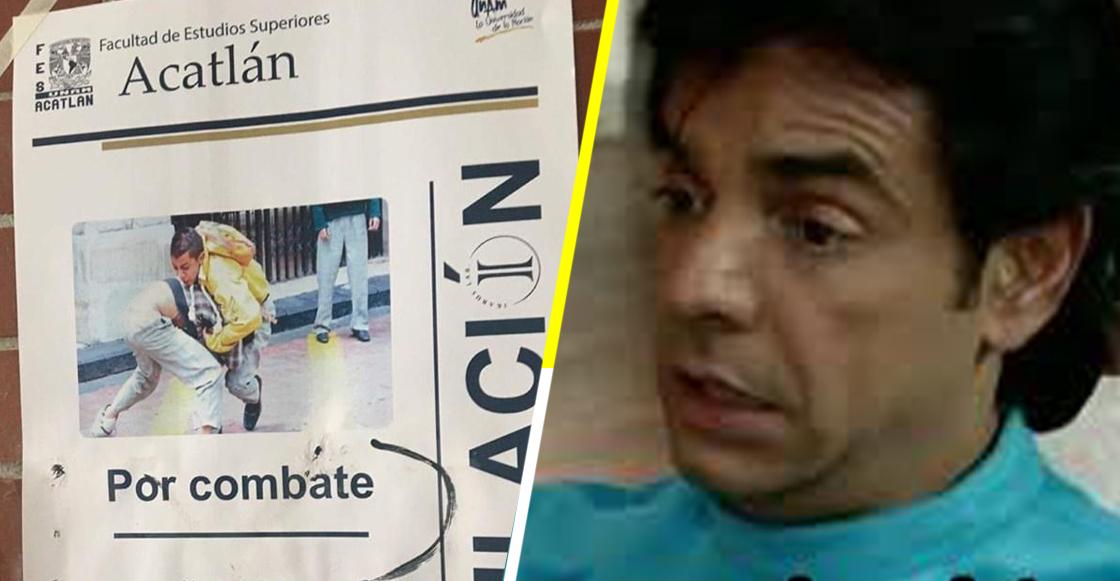 """Alguien hizo un cartel falso sobre la """"Titulación por combate"""" en FES Acatlán y hay varios interesados"""