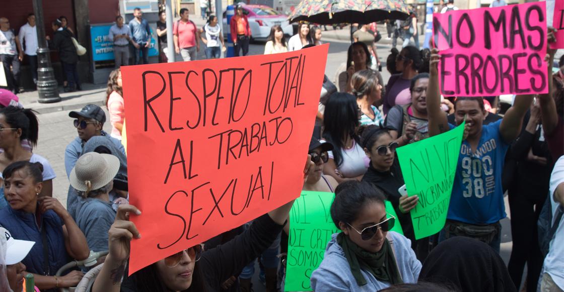 Eliminan de Ley de Cultura Cívica las sanciones para trabajadoras sexuales en CDMX