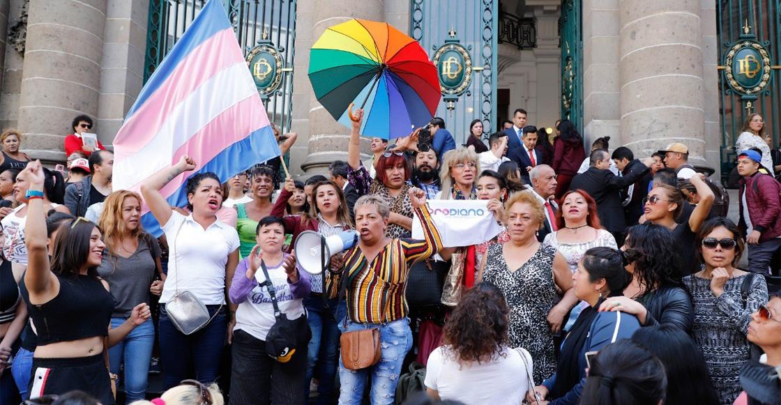 ¡No somos criminales!: trabajadoras sexuales protestan por Ley de Cultura Cívica en CDMX