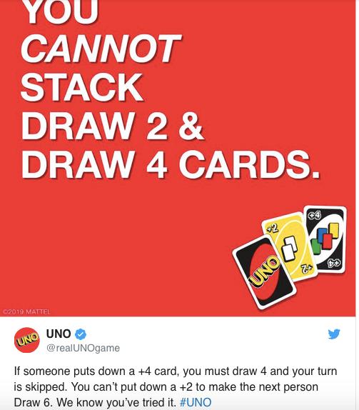 Los creadores de UNO confirman que este truco que has estado haciendo, es trampa
