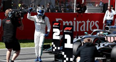 Bottas le vuelve a ganar el mandado a Hamilton en el Gran Premio de España